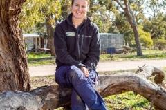 Annette Rypalski, Biodiversity director at Odonata in Mount Rothwell research and conservation centre in Victoria, Australia.